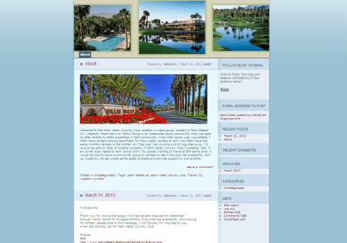 Palm Valley Vacation Homeowners Group