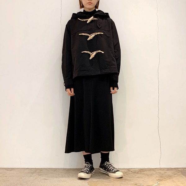 【THE RERACS】RERACS SHORT DUFFEL COAT
