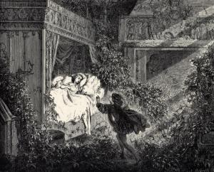 La Belle au Bois Dormant, illustration de Gustave Doré