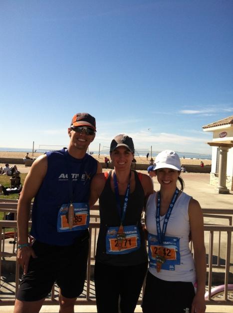 Sub 3:50 Glory at Surf City Marathon!