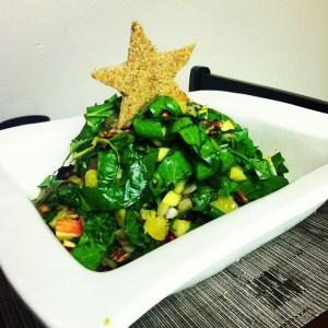 Christmas Tree Salad - Healthy and Festive!