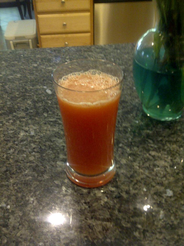 Watermelon sunrise juice recipe