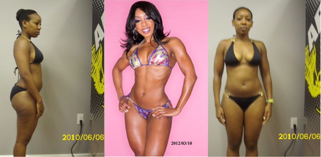 Jane Mukami - Fit Kenyan Girl (Before and After)