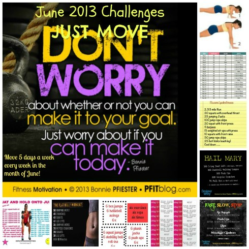 June 2013 Just Move Challenge