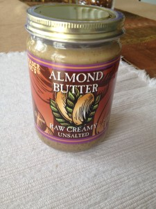 Raw Creamy Almond Butter
