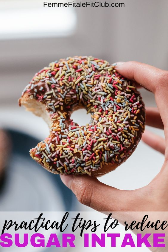Here are practical tips to reduce your sugar intake to support your weight loss goals and to stave off diabetes. #keto #ketogenic #nosugar #lowsugar #nocarbs #carbs #getridofbellyfat #weightloss #fitnesstips #weightlosstips #sugarfree