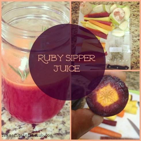 Ruby Sipper Juice Recipe