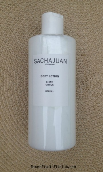 Sacha Juan Shiny Citrus Body Lotion
