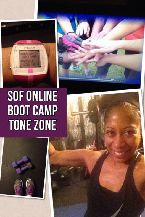 Sanders Optimum Fitness Online Boot Camp