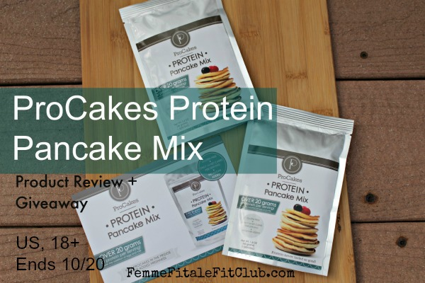 ProCakes Protein Pancake Mix Product Review and Giveaway