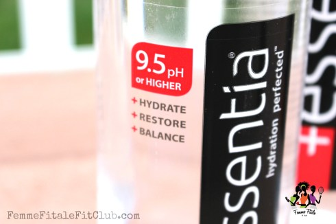 Ph balanced Essentia Water