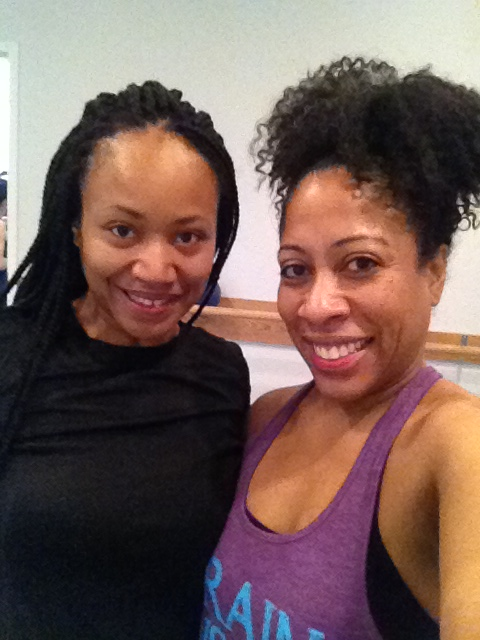 Smiling faces after Barre class #barreclass #barre
