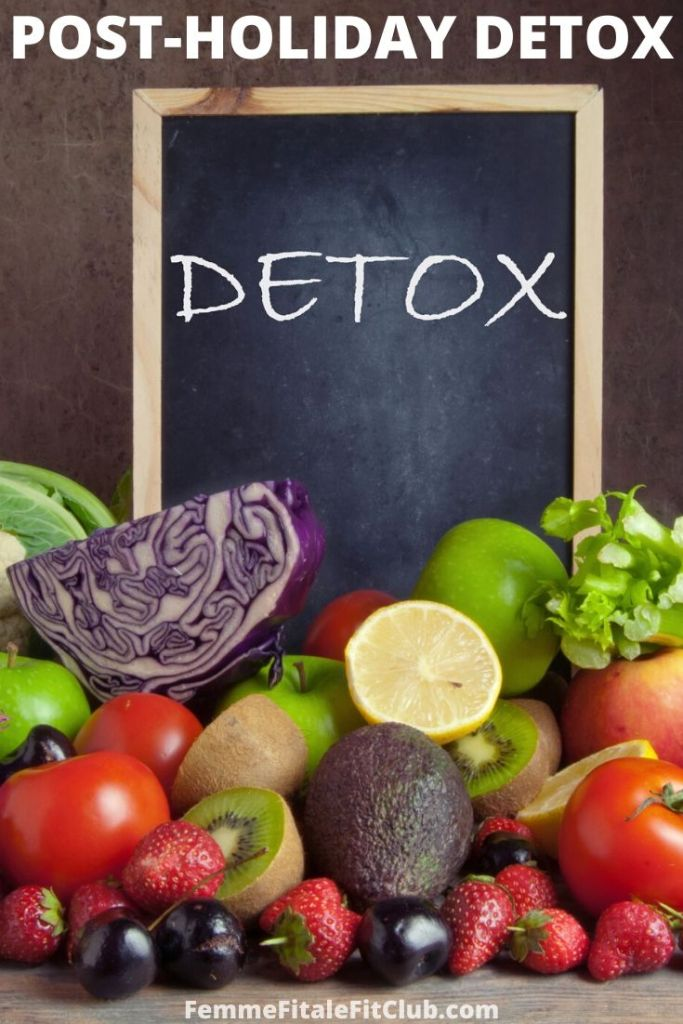 If you indulged a little too much this holiday season follow these strategies to help your body detox and give it a rest. #detox #juicing #freshproduce #cleanse