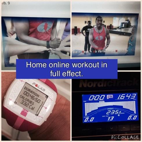 Sanders Optimum Fitness online boot camp workout