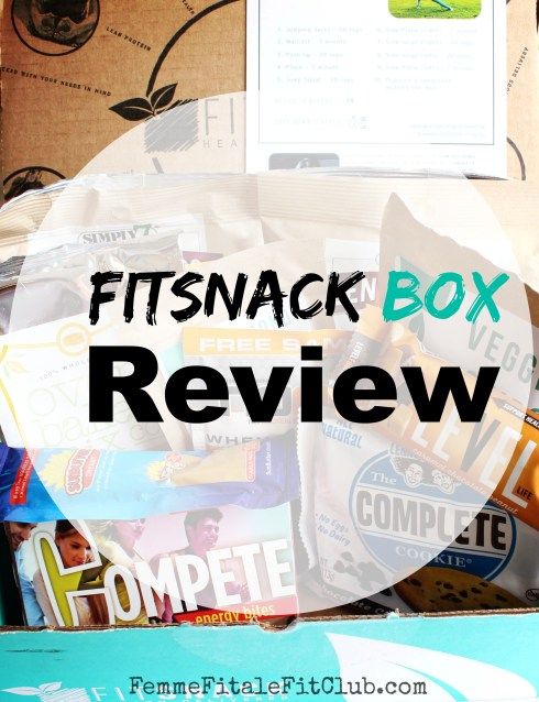 Fit Snack Box Review