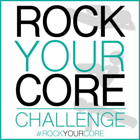 Rock Your Core Challenge Logo