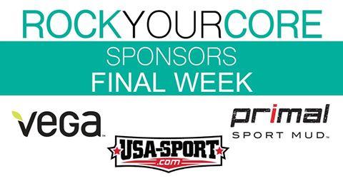 Rock Your Core Final Week Sponsors