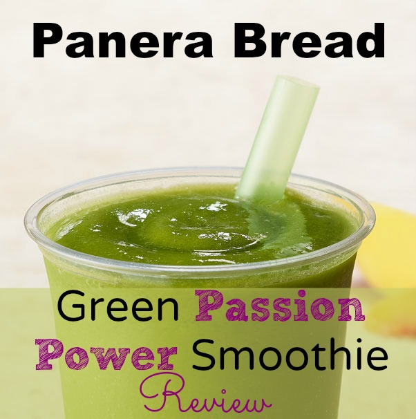 Panera Bread Green Passion Power Smoothie Review