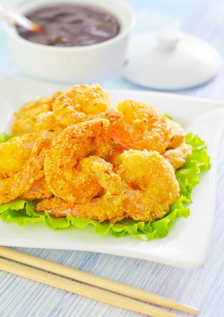 Deep Fried Shrimp - fried food