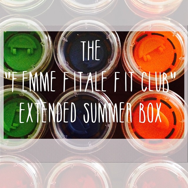 Femme Fitale Fit Club Eat Clean Live Happy Subscription Box