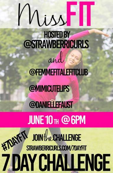 MissFIT 7-Day Fitness Challenge