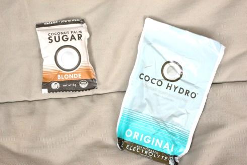Coco Hydro and Coconut Palm Sugar