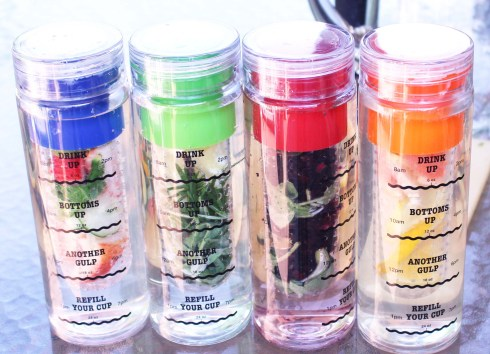 Water Infusion Bottles Giveaway