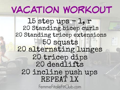 Iberostar Cancun vacation workout