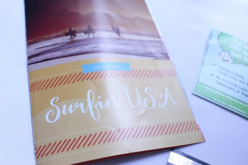 Surfin USA Love With Food pamphlet