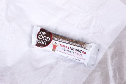 The Good Bean Fruit and No Nut Bar Chocolate Berry