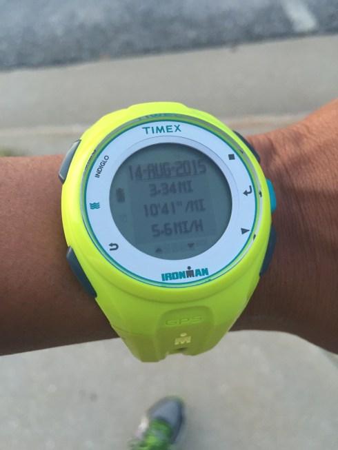 My run time