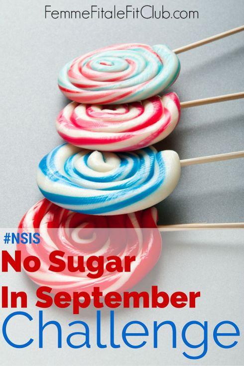 No Sugar In September challenge