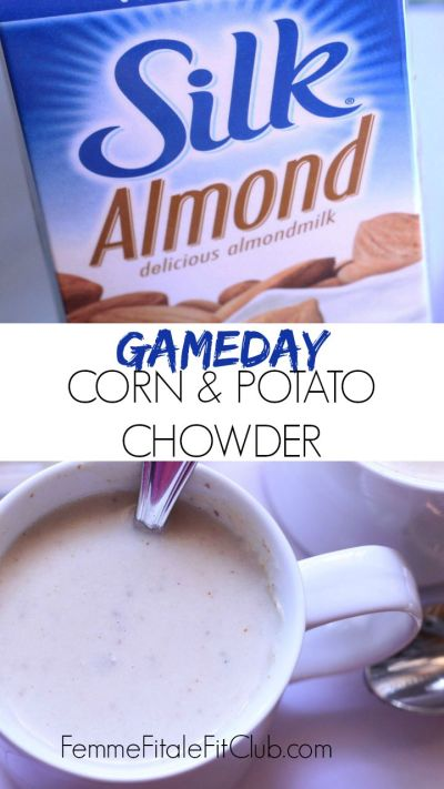 Gameday Corn and Potato Chowder cover