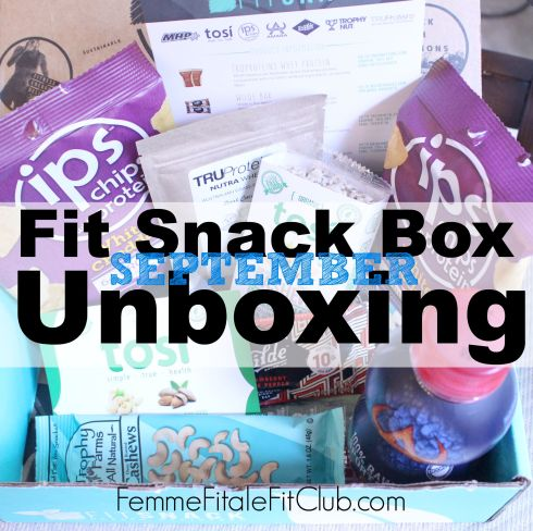 September Fit Snack Box Unboxing