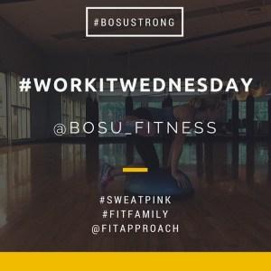 Work It Wednesday #BOSUStrong