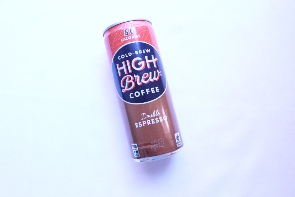 Cold Brew High Brew Coffee