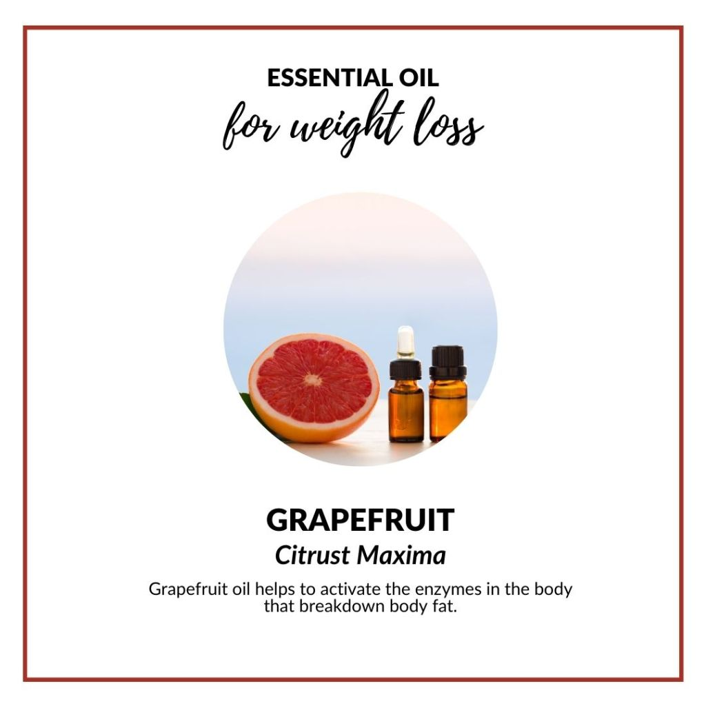 Grapefruit oil helps to activate the enzymes in the body that breakdown body fat. #meltbodyfat #essentialoilforweightloss #selfcare #wellness #health