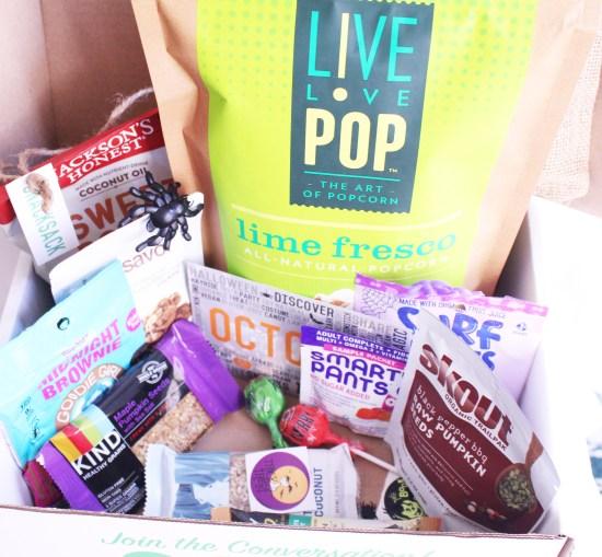 October Snack Sack Box
