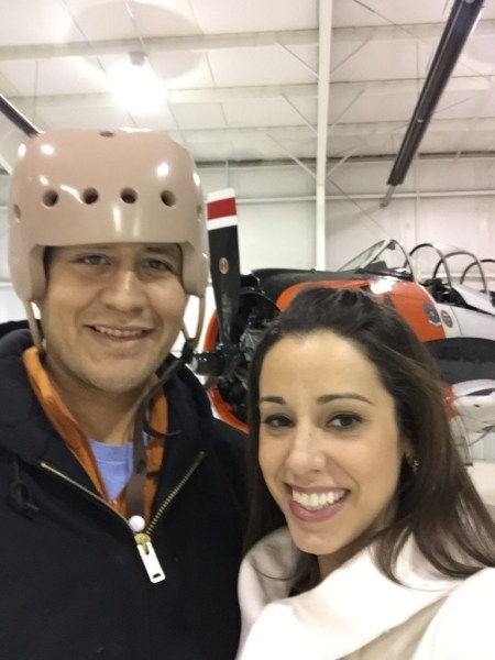 Katie Guzman (Serafin) and husband of Serafin Juice
