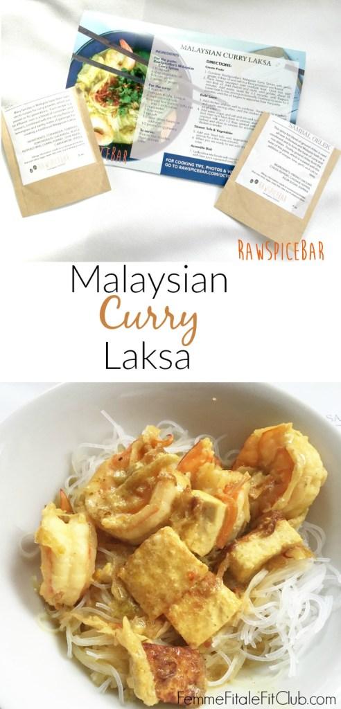 Malaysian Curry Laksa recipe by RawSpiceBar