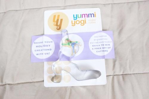 Yummi Yogi Cookie Cutter