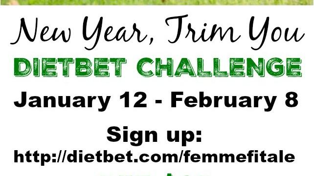 New Year, Trim You DietBet Challenge banner