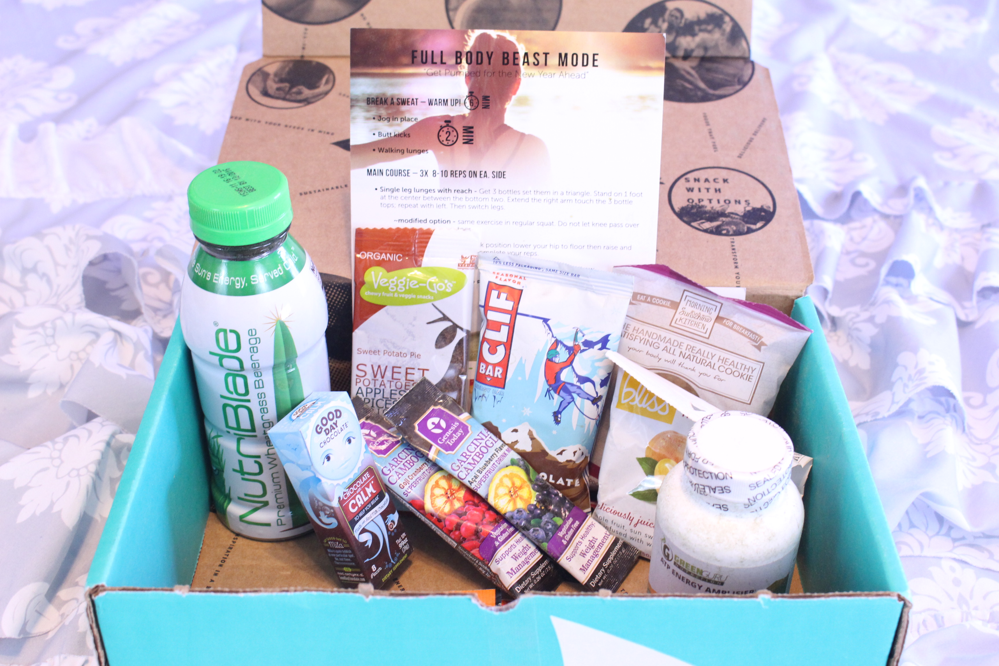 January 2016 Fit Snack Box