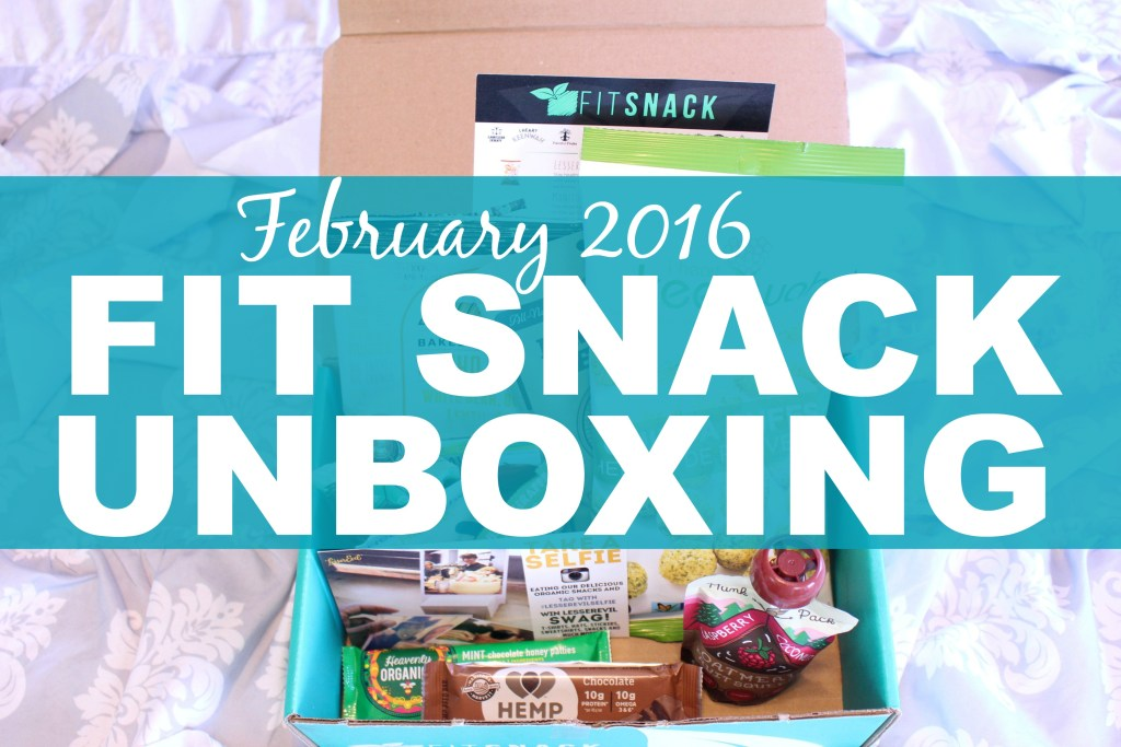February Fit Snack Box Unboxing 2