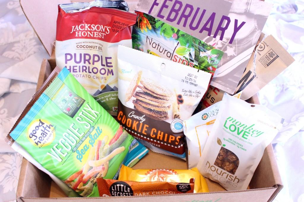 February Snack Sack Box
