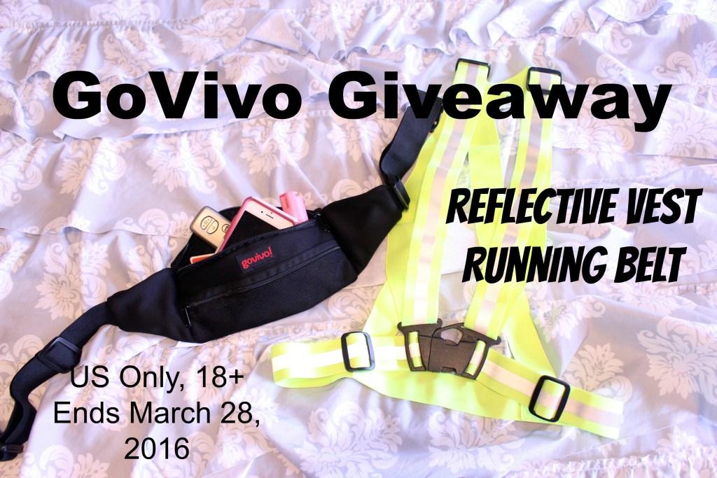 GoVivo Running Belt and Reflective Vest Giveaway