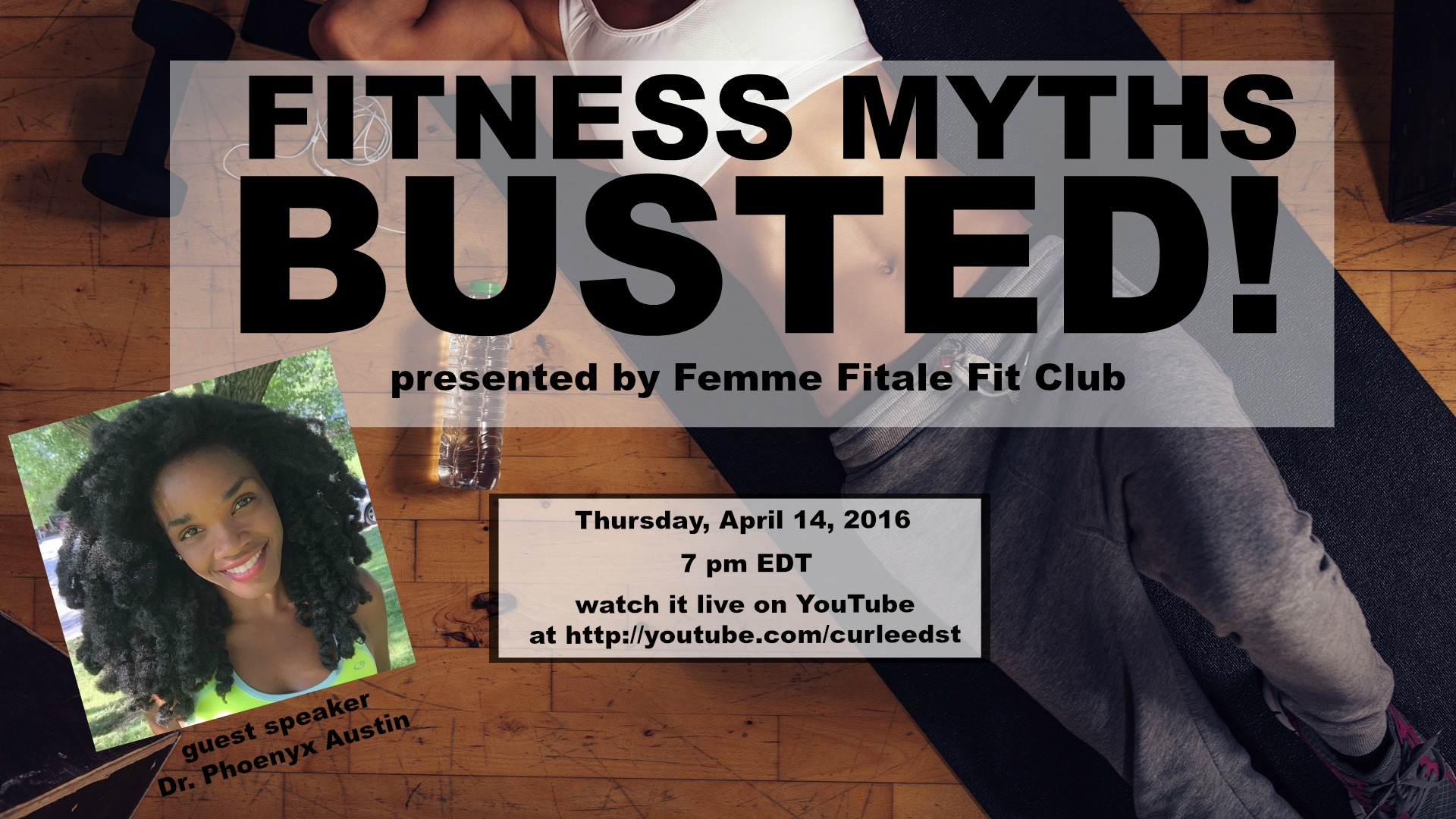 Fitness Myths Busted! webinar