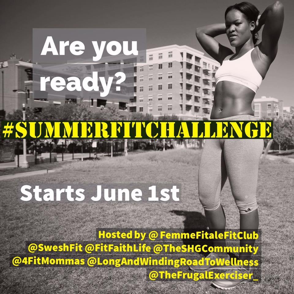 June 2016 #SummerFitChallenge
