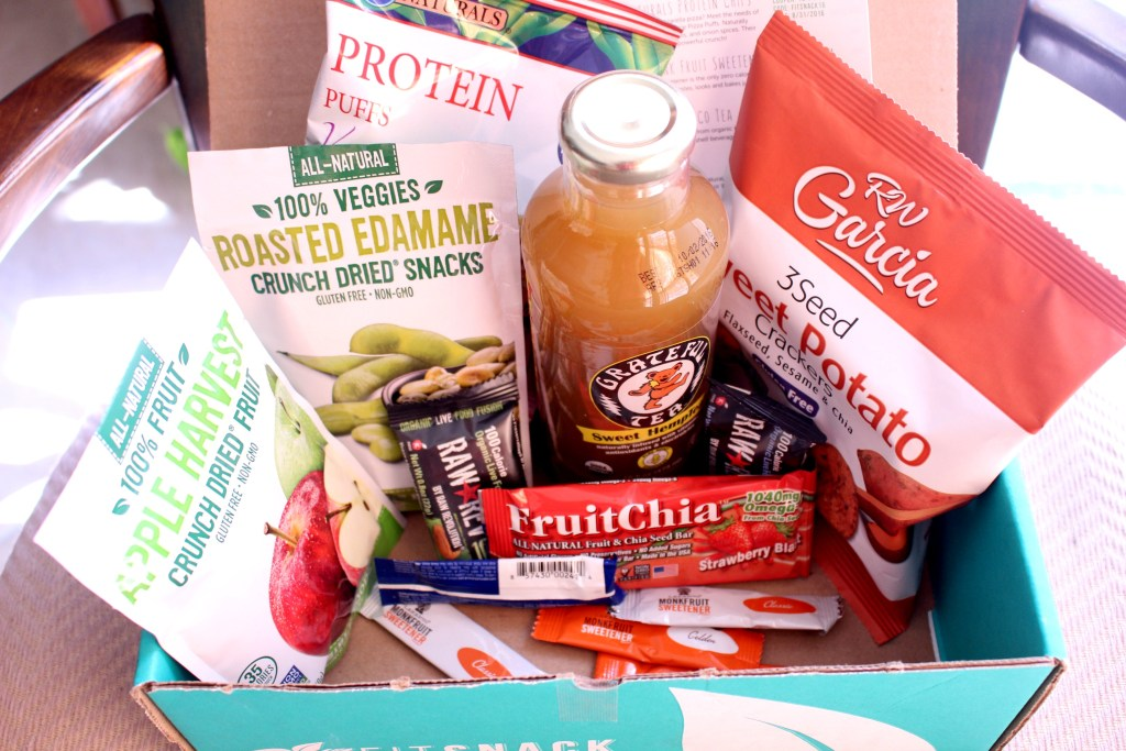 May 2016 Fit Snack Box