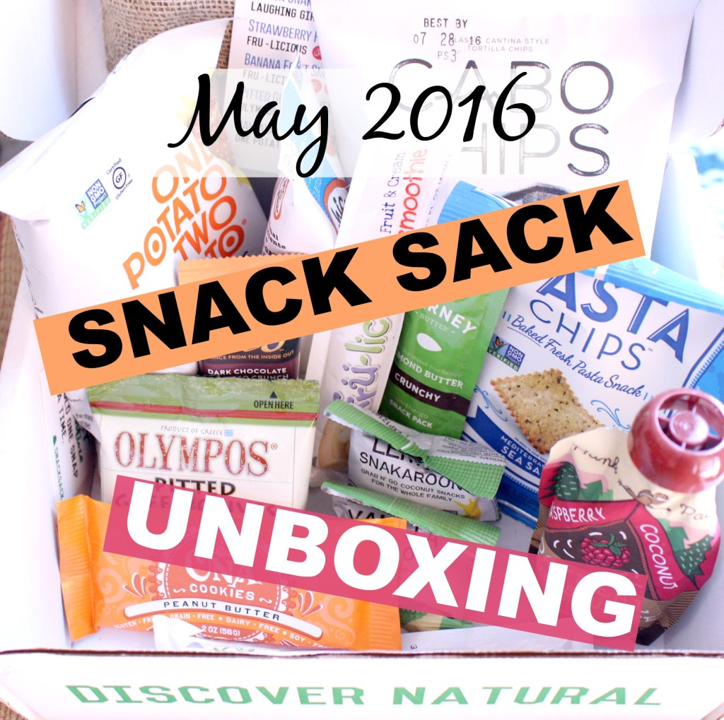 May 2016 Snack Sack Unboxing